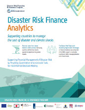 disaster risk finance