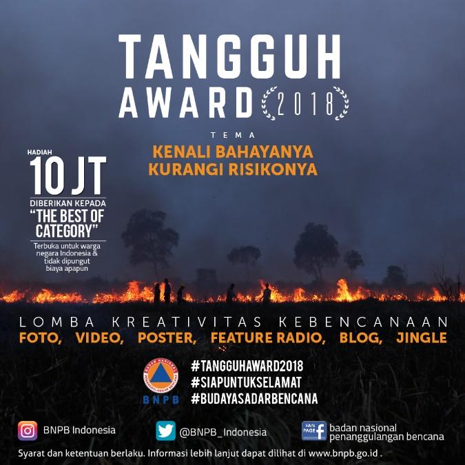 Tangguh Award 2018 Lomba Kreativitas Kebencanaan